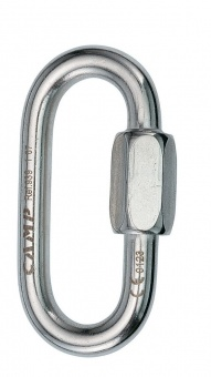 Фото Карабин-рапид Camp Oval 8 mm Stainless Steel Quick Link